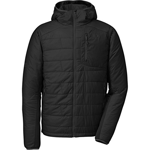 Outdoor Research Men's Cathode Hooded Jacket, black, Large