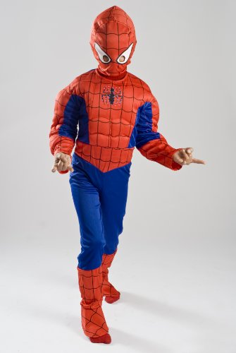 Spiderman Costume Boys Kids Light up Spider Size S M Free MA