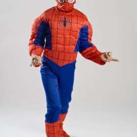 Spiderman Costume Boys Kids Light up Spider Size S M Free MASK 4 5 6 7 8 9