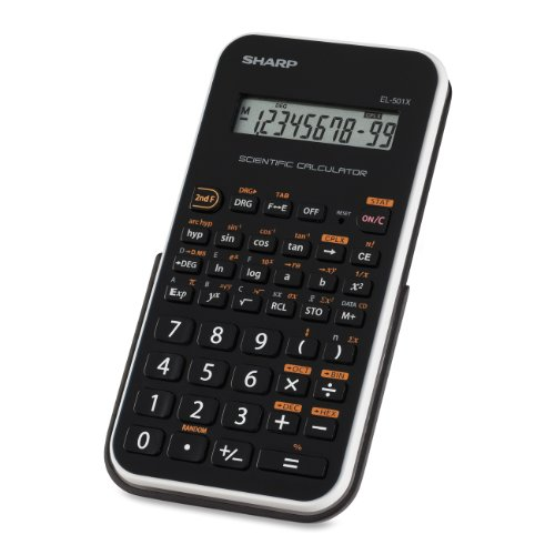Sharp EL501XBWH Engineering/Scientific Calculator