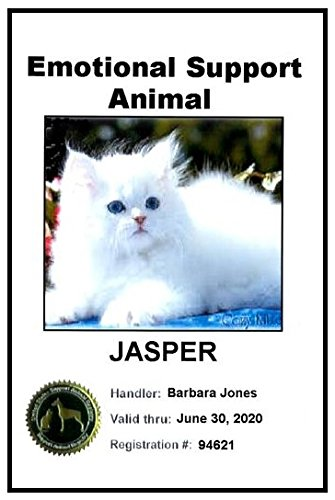 Emotional Support Animal ID Card ('A' rating from Better Business Bureau) for Dog, Cat, Pig, Rabbit, Horse, etc.