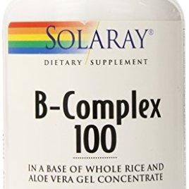 Solaray B Complex Supplement, 100mg, 100 Count