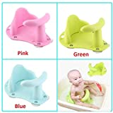 LQT Ltd New Baby Bath Tub Ring Seat Infant Child Toddler Kids Anti Slip Safety Comfortable Bath Chair
