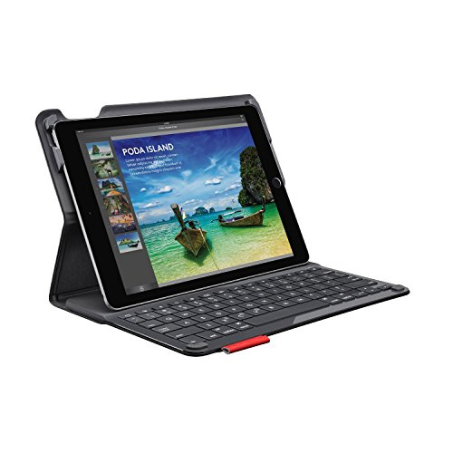Logitech Type+ Protective iPad Air 2 (ONLY) Case with Integrated Keyboard - Designed for Typing and Tapping - Wireless Bluetooth - Bulk Packaging - Black