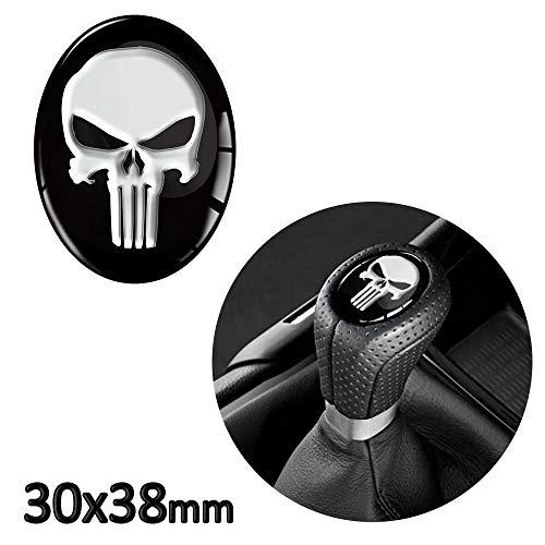 1 x 3D Sticker for Shift Lever Gear Knob JDM S 30