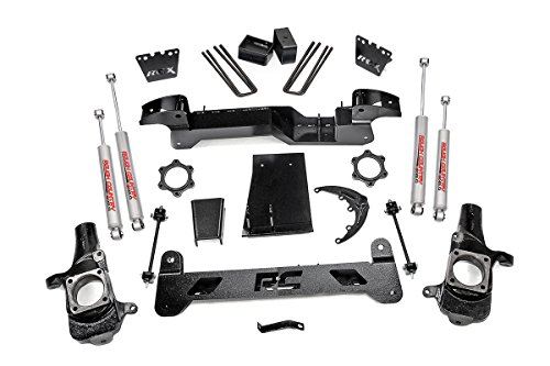 Rough Country - 297N2 - 6-inch Suspension Lift Kit w/ Premium N2.0 Shocks