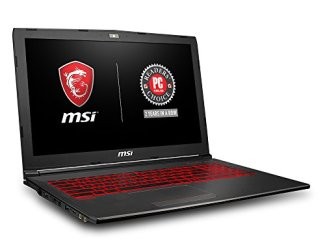 MSI GV62 8RD-200 15.6' Full HD Performance Gaming Laptop PC i5-8300H, GTX 1050Ti 4G, 8GB RAM, 16GB Intel Optane Memory + 1TB HDD, Win 10 64 bit, Black, Steelseries Red Backlit  Keys