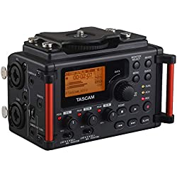 Tascam DR-60DMKII 4-Channel Portable Audio Recorder for DSLR (Renewed)