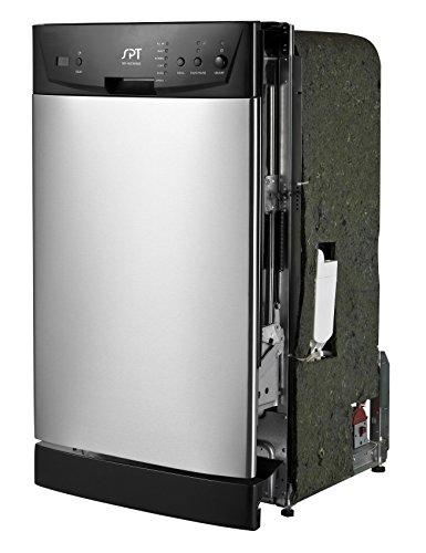 SPT SD-9252SS Energy Star 18' Built-In Dishwasher, Stainless Steel