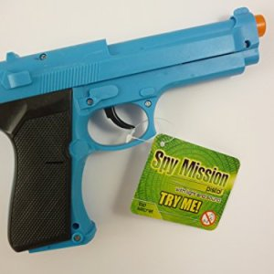 Spy Mission Pistol With Light And Sound Blue [Colour May Vary] 4149f44Rp1L