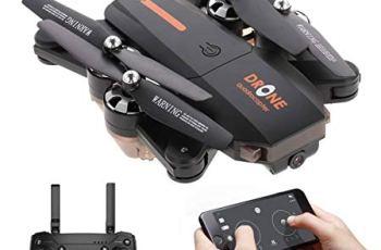 Amitasha Remote Control Foldable Drone with 480p Wi-Fi Camera App Control