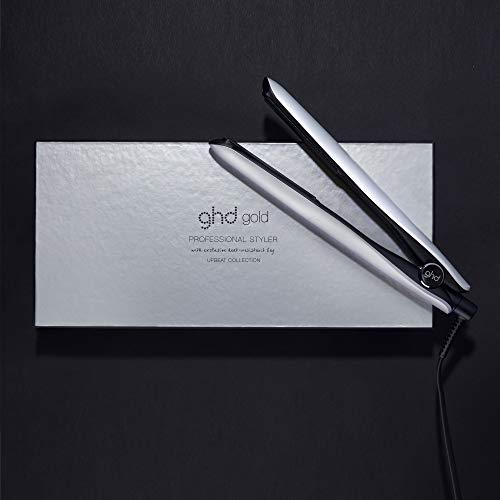 Ghd Gold Upbeat Styler – Piastra professionale per capelli, Edizione Limitata con Custodia, Argento (Moon Silver)