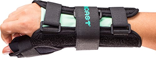 Aircast A2 Wrist Support Brace with Thumb Spica: Right Hand, Medium