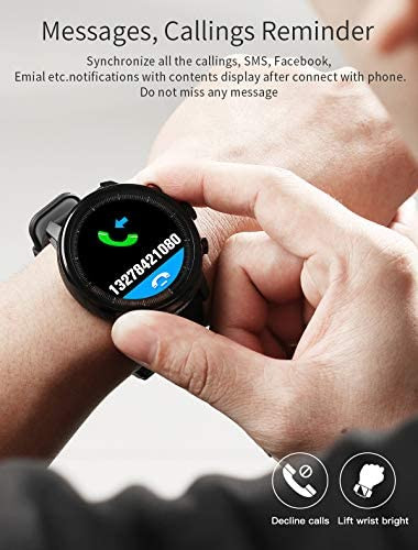 Fitness Tracker Activity Tracker Heart Rate Monitor Pedometer IP68 Sports Smart Watch Multifunction 8