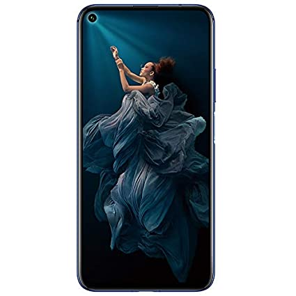Honor 20 (Sapphire Blue, 6GB, 128GB Storage) - 48m AI Quad Rear Camera & Kirin 980 Processor.