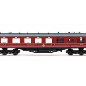 Hornby R4802 LMS 68′ Dining/Restaurant Car '238', Crimson Lake 414FheMgGdL