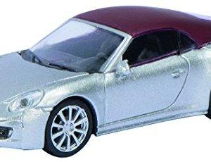 Schuco Models HO Porsche 911 S Soft Top/Silver w/Red Top 414KlBUmp4L