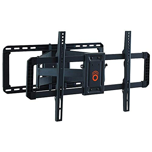 ECHOGEAR Full Motion Articulating TV Wall Mount Bracket for 42'-80' TVs - Easy to Install On 16', 18' or 24' Studs & Features Smooth Articulation, Swivel, Tilt - EGLF2