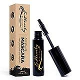 Organic Mascara | Black Mascara | Vegan & Cruelty Free | Best Natural Mascara for Thickening and Lengthening | Best Gluten Free Eyelash Organic Make Up | Mascara to Lengthen Eyelashes | Non-GMO