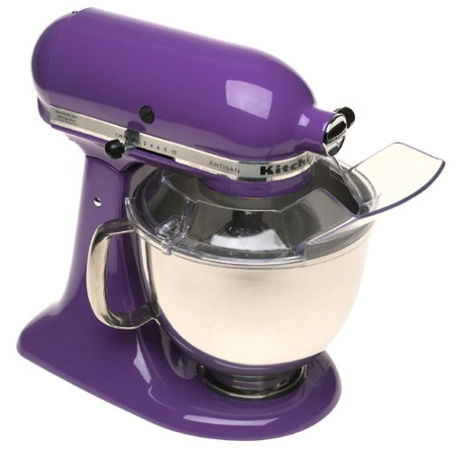 KitchenAid KSM150PSGP Artisan Series 5-Qt. Stand Mixer with Pouring Shield - Grape