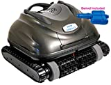 Nu Cobalt NC74 Wall Climber Scrubber Smart Logic Robotic Pool Cleaner with Caddy and Swivel Ideal for in...
