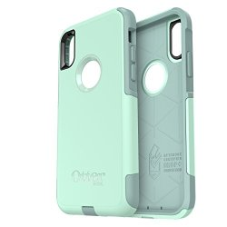 OtterBox COMMUTER SERIES Case for iPhone X (ONLY) - Frustration Free Packaging - OCEAN WAY (AQUA SAIL/AQUIFER)