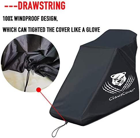ClawsCover Treadmill Cover Waterproof Dustproof Running Machine Cover Exercise Workout Equipment Protective with Windproof Drawstring and Air Vents for Home Gym Indoor Outdoor 2