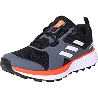 adidas Terrex Two Trail Running Shoes Men's, Black, Size Men's Trail Running Shoes