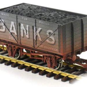 Dapol 4F-080-125 8 Plank Wagon Banks 352 Weathered 414gNmqv0gL