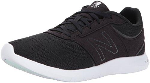 New Balance Women's 415v1 Walking-Shoes,Black/White,7.5 B US