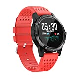 smart watch LYQ Waterproof Fitness Tracker Bluetooth Wearable Sports Bracelet Heart Rate Pedometer HD Photograph Applicable to Android Apple Millet