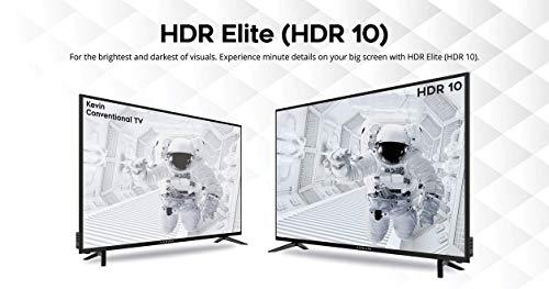 Kevin 140 cm (55 Inches) 4K UHD | HDR-10 LED Smart TV KN55UHD (Black) 18