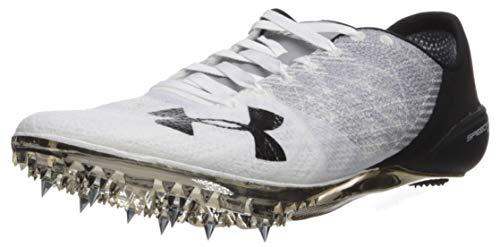 Under Armour Unisex Speedform Sprint 2 Running Shoe, White (100)/Steel, 6.5 M US Big Kid
