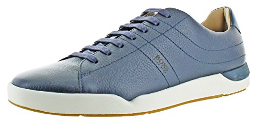 414tPT0vq%2BL The Stillnes is a tennis court sneaker by Hugo Boss Made of genuine leather upper with leather lining Lace-up design with Lightly cushioned insole