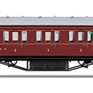 R4656 Hornby OO – LMS Non-Corridor 57 Composite Coach 16597 by Hornby 414wFa GyuL