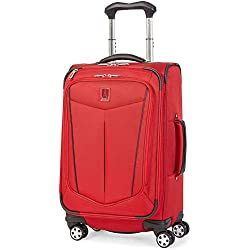 """Travelpro Unisex Nuance 21"""" Expandable Spinner Red One Size"""