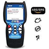 INNOVA 3100j Color Screen W/SRS & Oil Light Reset OBD2 Scanner/Car Code Reader with ABS, SRS, and Service