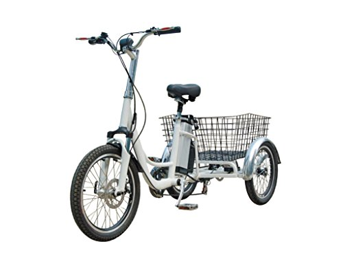 RMB EV Libert-e Adult electric pedal trike/tricycle with dual rear wheel power