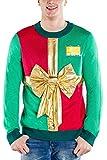 Tipsy Elves Men's Sweater Medium Green