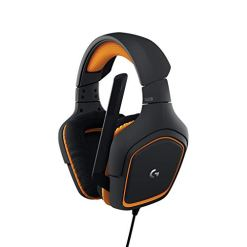 Logitech G231 Gaming Headset for Xbox One, PS4, Switch and PC (Stereo with Mic) – Black/Orange