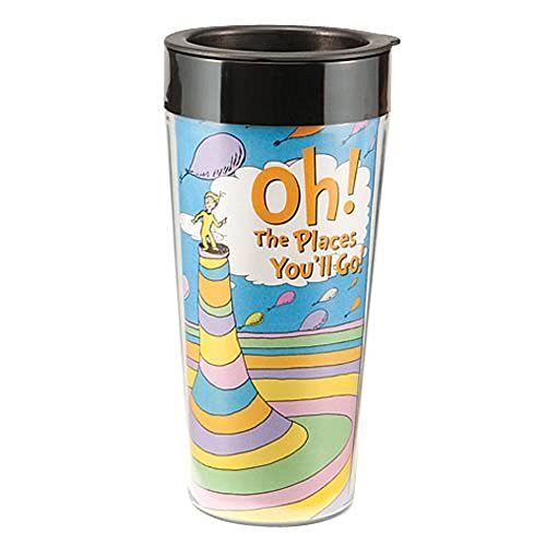 Dr. Seuss Oh The Places You'll Go Travel Coffee Mug