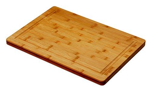 Simply Bamboo CBVJ20 20 X 14 Valencia Bamboo Cutting Board w/Juice Groove