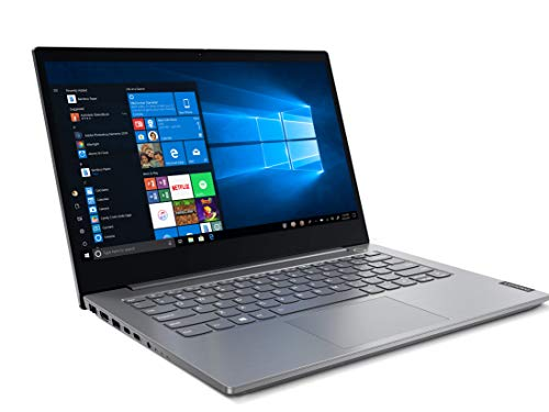Lenovo ThinkBook 14 Intel Core i5 10th Gen 14-inch Full HD Thin and Light Laptop (8GB RAM/ 1TB HDD/ Windows 10 Home with Lifetime Validity/ Mineral Gray/ 1.49 kg), 20RV00DDIH 3