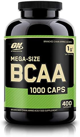Optimum Nutrition Instantized BCAA Capsules, Keto Friendly Branched Chain Essential Amino Acids, 1000mg, 400 Count 3