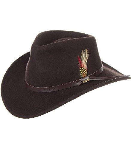 14d97d2abb4 Billings Crushable Wool Waterproof Cowboy Hat – Cool Hat Stores