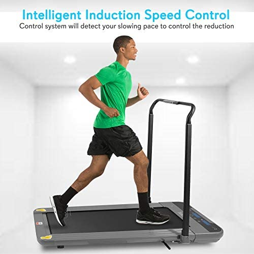SereneLife Folding Digital Display Electric Treadmill – Fitness Training Cardio Equipment for Home Workouts, Jogging, Walking Exercise – Compact Minimal Profile Running Belt 9