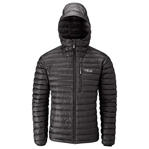 RAB Microlight Alpine Jacket - Men's Black/Shark Small