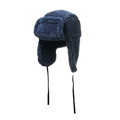 House of Fluff Faux Fur Shearling Hat-100% Recycled Post Consumer Plastic 1