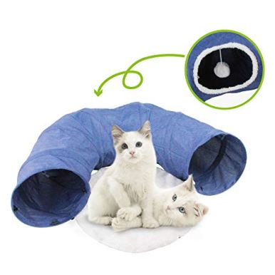 PAWISE-Cat-Toys-Cat-Tunnel-and-Cat-Cube-Pop-Up-Collapsible-Kitten-Indoor-Outdoor-Toys-Tunnel-Bed