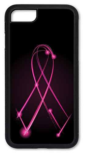 iPhone 6 Case, Slim Fit Shell Hard Plastic Full Protective Cover Case for Apple iPhone 6 - Breast Cancer Awareness